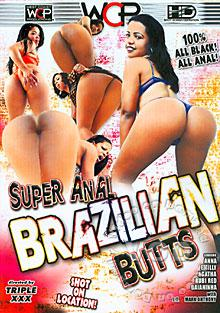 Super Anal Brazilian Butts Box Cover