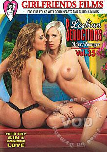 Lesbian Seductions Older/Younger Vol. 35 Box Cover