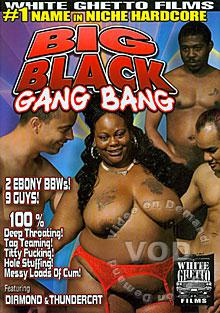 Big Black Gang Bang Box Cover