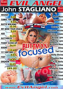 Buttman Focused Box Cover