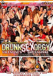 Drunk Sex Orgy - Valentine's Day Vaginas Box Cover