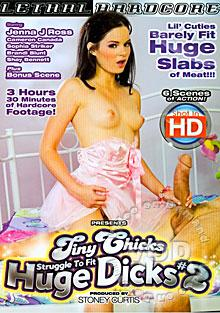 Tiny Chicks Struggle To Fit Huge Dicks #2 Box Cover