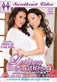 Lesbian Beauties 9 - Asian Beauties Box Cover