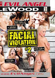 Facial Violation #2 Box Cover