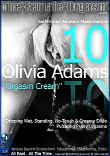Olivia Adams 10 - Orgasm Cream Box Cover
