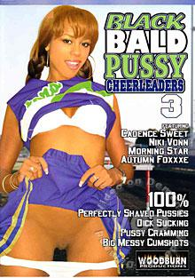 Black Bald Pussy Cheerleaders 3 Box Cover