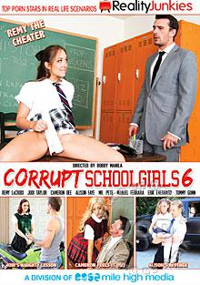 Corrupt Schoolgirls 6 Box Cover